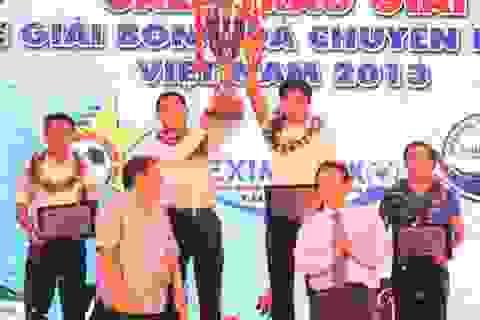 Gala trao giải chính thức khép lại mùa bóng 2013