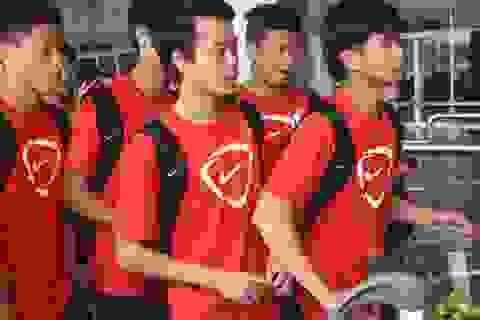 U19 Việt Nam rời TPHCM sang Anh tập huấn
