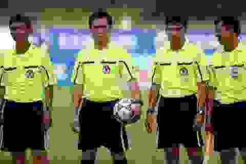 Trọng tài Việt Nam lại trượt tiêu chuẩn FIFA