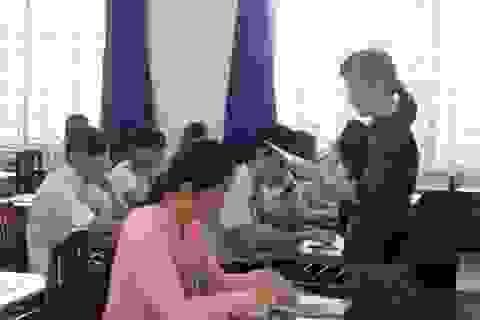 Chỉ vài thí sinh thi Tiếng Trung, tiếng Nhật