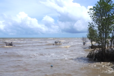 Công bố tình trạng khẩn cấp sạt lở bờ biển