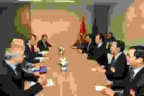 Thủ tướng và lãnh đạo Châu Âu cam kết bảo vệ hoà bình trên Biển Đông