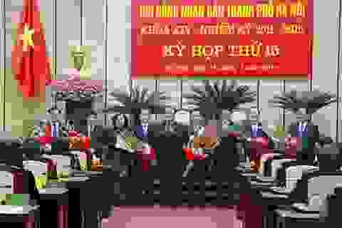 Thủ tướng bổ nhiệm 3 Giám đốc Sở làm Phó Chủ tịch Hà Nội