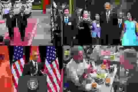 Toàn cảnh chuyến thăm Việt Nam của Tổng thống Obama