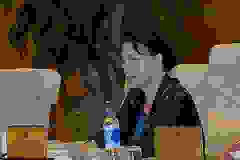 Bộ Nông nghiệp cử Thứ trưởng đi họp, Chủ tịch Quốc hội yêu cầu Bộ trưởng có mặt