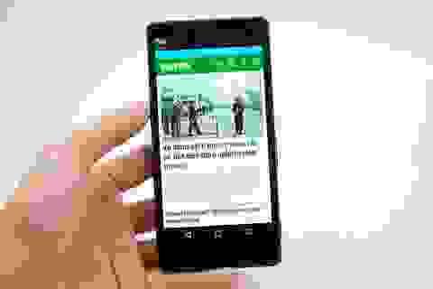 Cận cảnh Xperia M5 sắp bán tại Việt Nam