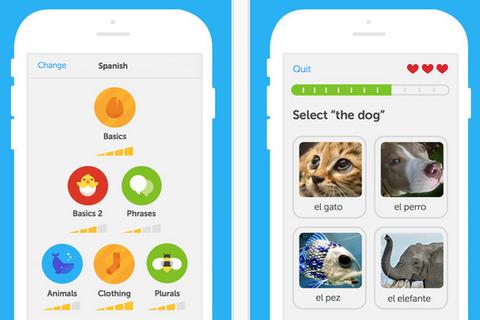 Học và thực hành ngoại ngữ dễ dàng với Duolingo