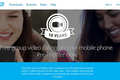 Skype đưa tính năng gọi điện nhóm lên thiết bị di động