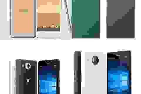 Một số smartphone mới vừa hạ giá trong tháng qua