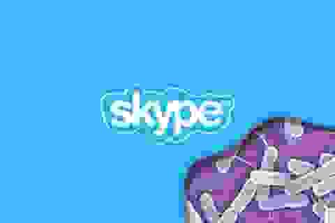 Xuất hiện mã độc ransomware lây lan qua ứng dụng Skype