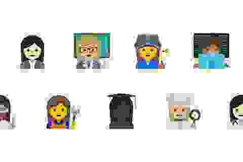 Google thúc đẩy bình đẳng giới với biểu tượng cảm xúc mới