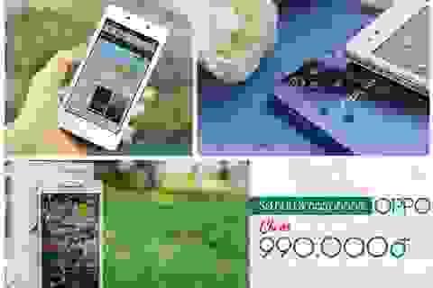 Sở hữu smartphone OPPO chỉ với 990.000 đồng tại FPT Shop