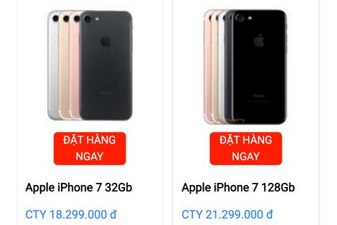 iPhone 7 chính hãng tại Việt Nam sẽ được bán ra khá sớm với giá tốt