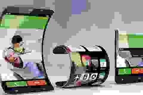 Smartphone trang bị màn hình uốn cong và gập được sắp lộ diện?