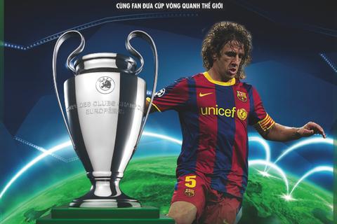 Fan Hà Nội & Hải Phòng chuẩn bị cúp UEFA Champions League