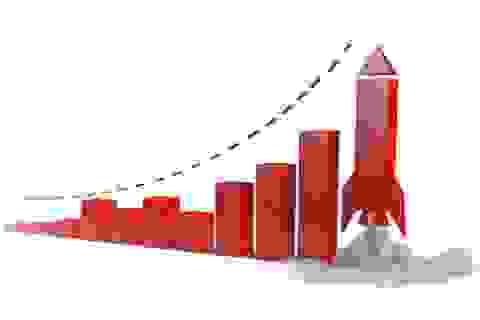 """Hơn 3.200 tỉ đồng """"đổ"""" vào chứng khoán, VN-Index tăng mạnh"""