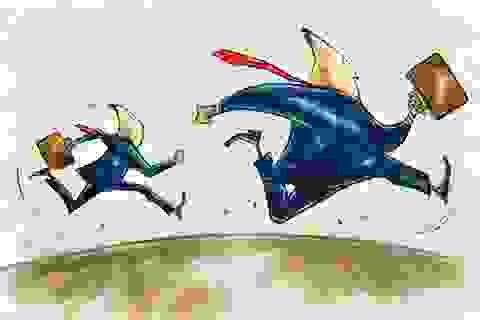 Nhà đầu tư bất ngờ tháo chạy, VN-Index lao dốc 10 điểm
