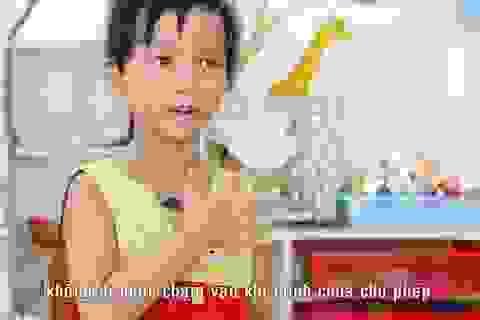 Bảo vệ trẻ bằng nguyên tắc 5 ngón tay