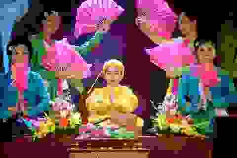 """Tài năng nhí 9 tuổi khiến khán giả nổi da gà khi hát văn """"Ông Hoàng Mười"""""""