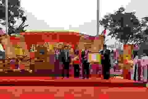 Phù điêu Quốc tổ Lạc Long Quân được công nhận Bảo vật quốc gia