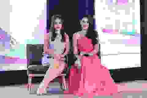 Mỹ nhân đẹp nhất Thái Lan đọ dáng cùng Tú Vi