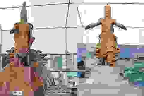 Chủ tịch Hội Mỹ thuật Việt Nam lên tiếng về tranh cãi quanh việc dựng tượng Vua Hùng