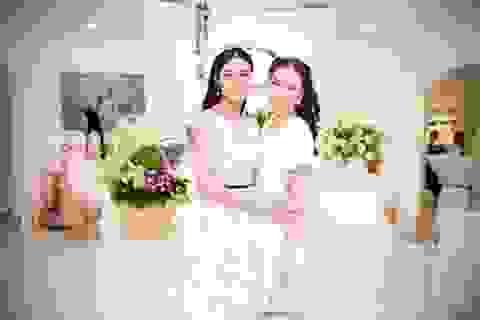 BTV đẹp nhất VTV xuất hiện rạng ngời bên Hoa hậu Ngọc Hân