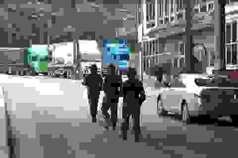 Bộ đội biên phòng kiểm soát chặt cửa khẩu trước ngày bầu cử