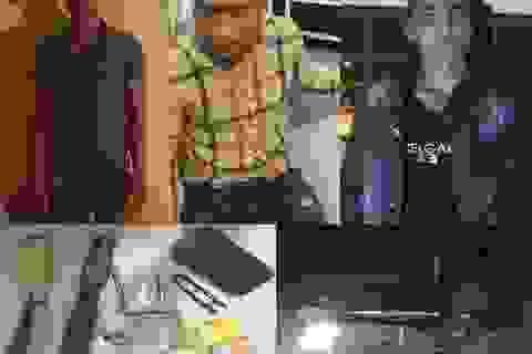Tóm gọn nhóm trộm liên tỉnh mang hung khí để chống trả