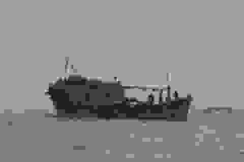 Tìm kiếm 2 tàu cá cùng 5 lao động mất liên lạc trên biển