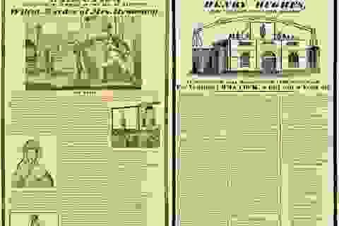 """Những ấn bản """"báo lá cải"""" đầu tiên trong lịch sử"""