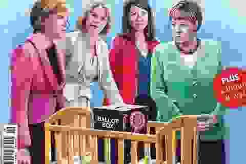 """Tạp chí gây tranh cãi vì """"lý giải"""" chuyện nữ chính trị gia thường không sinh con"""