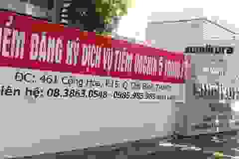 """Lại nháo nhào tìm """"cửa"""" tiêm vắc xin dịch vụ cho con"""
