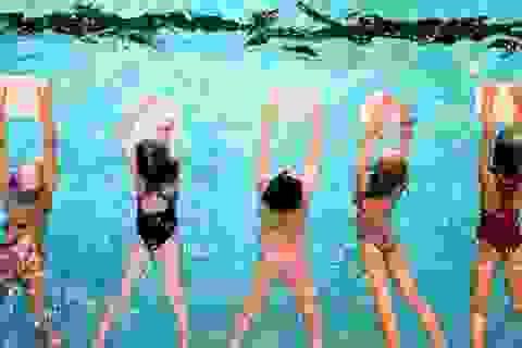 Cứu bệnh nhân đuối nước khi đang tập bơi