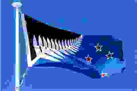 Lộ diện mẫu quốc kỳ mới được người dân New Zealand ủng hộ nhất