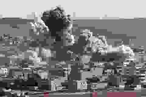 Liên quân phá hủy 90% cơ sở dầu của IS