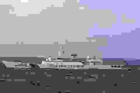 Tàu Trung Quốc mang 4 khẩu pháo lại gần đảo tranh chấp với Nhật