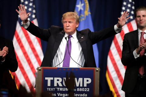 Tỷ phú Trump lại thắng lớn ở bầu cử sơ bộ Nevada