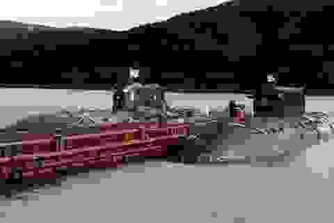 Tàu ngầm mang tên lửa hạt nhân của Nga áp sát vùng biển Pháp