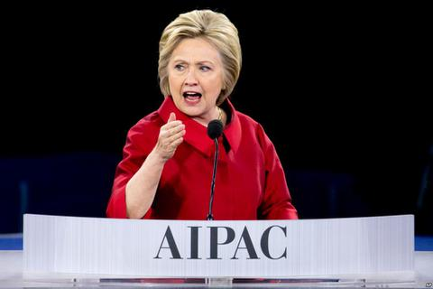 Bà Clinton công kích ứng cử viên Trump để thuyết phục cử tri gốc Do Thái
