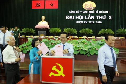 TPHCM chờ Bộ Chính trị phân công Bí thư Thành ủy