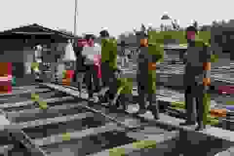 Dân không được đền bù cho 370 tấn cá bè chết trắng