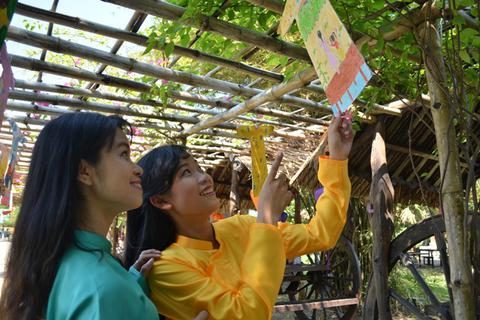 Tái hiện không gian tết xưa tại Sài Gòn