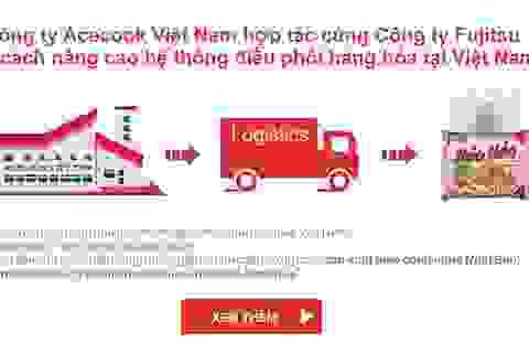 Acecook Việt Nam cải cách nâng cao hệ thống điều phối hàng hoá tại Việt Nam