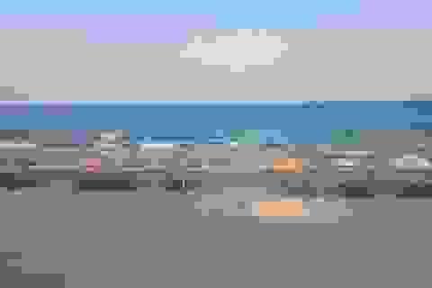 Biển Vũng Tàu sạch đẹp sau lệnh cấm ăn nhậu, nấu nướng trên bãi biển