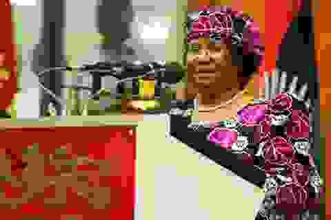 Nữ tổng thống đầu tiên của Malawi nhậm chức