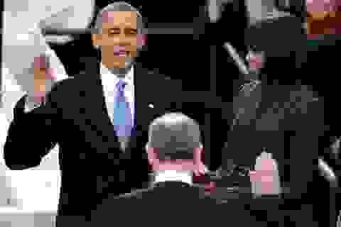 Tuyên thệ nhậm chức, Tổng thống Obama kêu gọi nước Mỹ đoàn kết