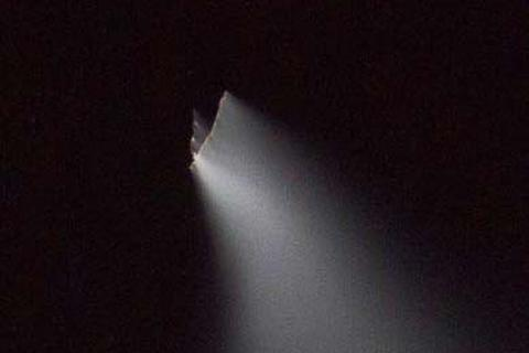 Vật thể bay bí ẩn xuất hiện trên bầu trời Trung Quốc