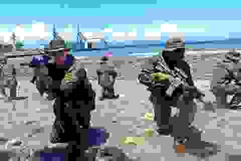 Philippines, Mỹ bắt đầu tập trận hải quân ở Biển Đông