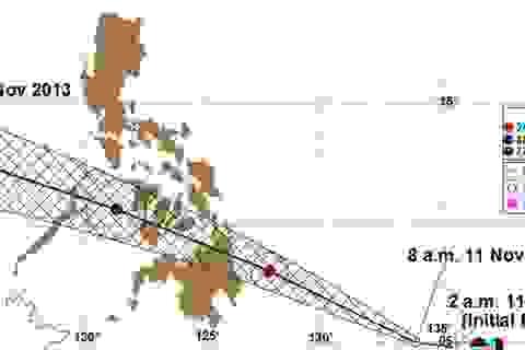 Philippines sắp chịu bão mới sau siêu bão Haiyan